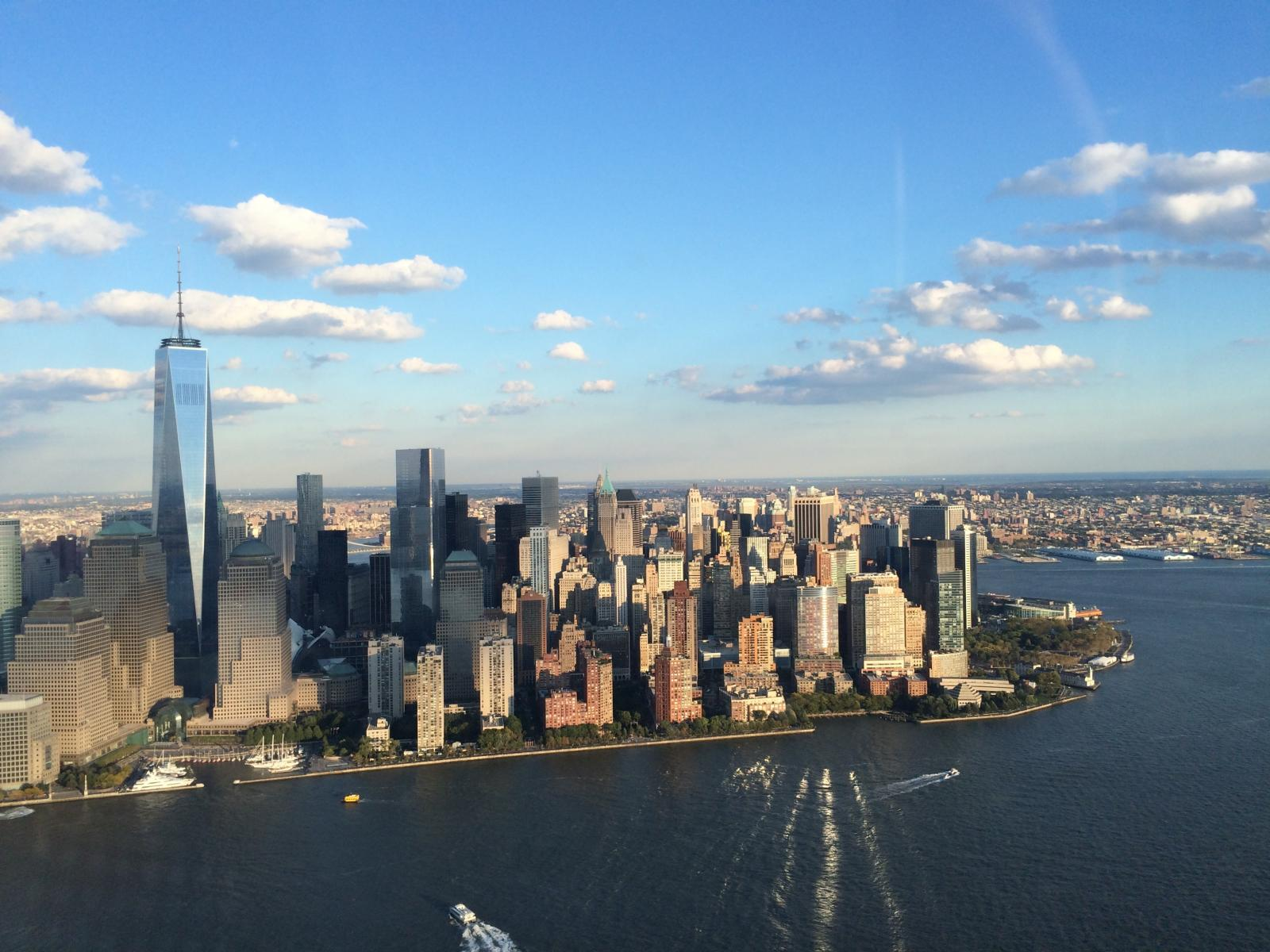 Helicopter Ride NYC From Above
