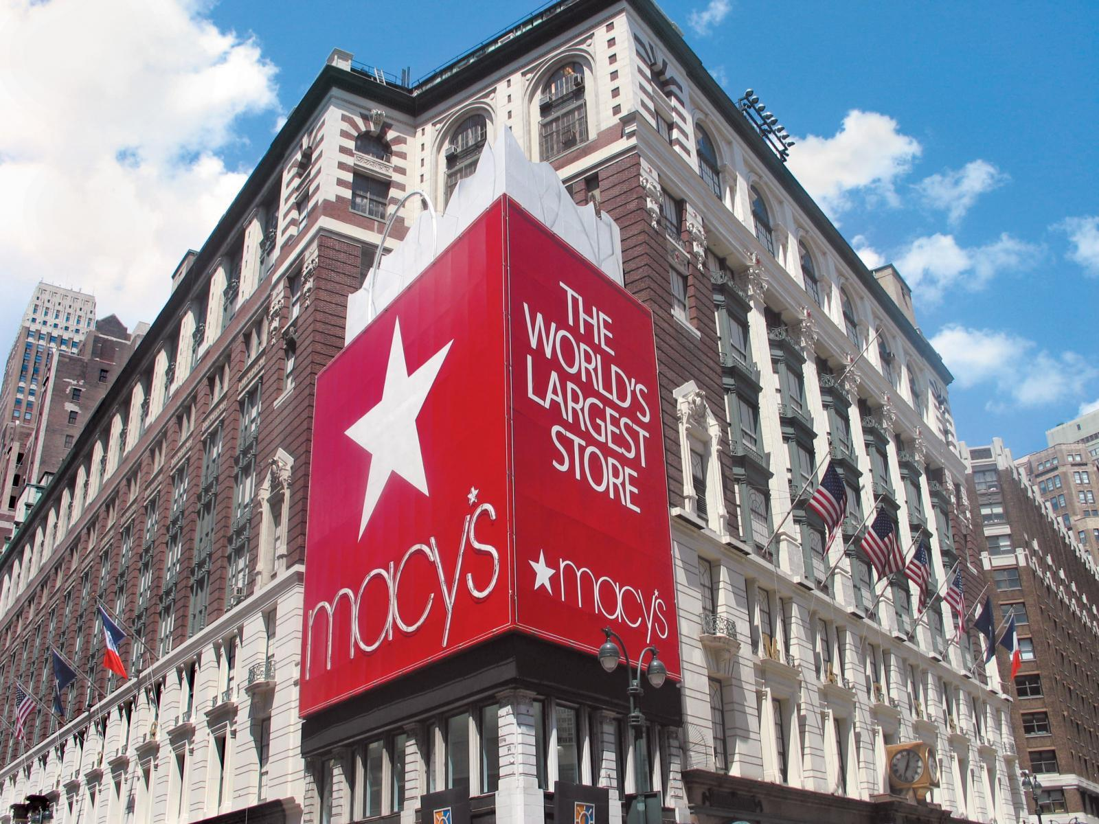 Macy's Storefront at Herald Square NYC