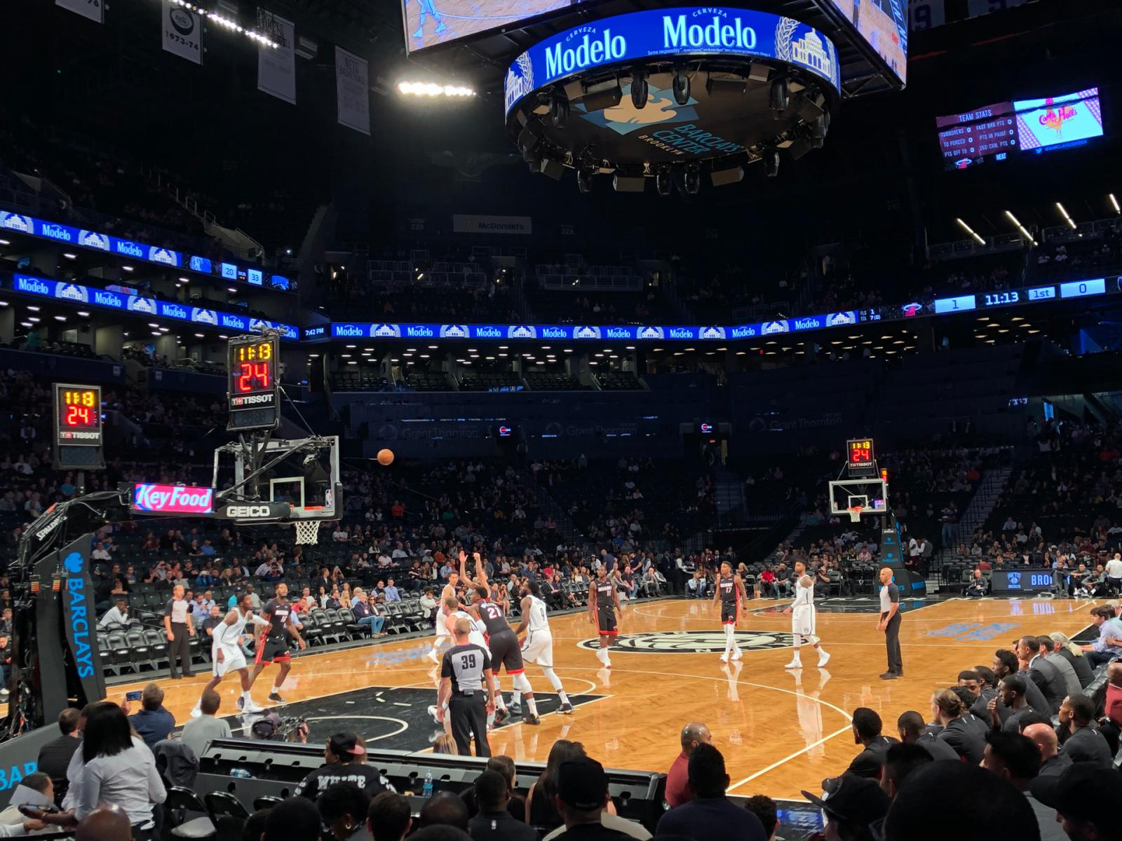 Brooklyn Nets at the Barclays Center