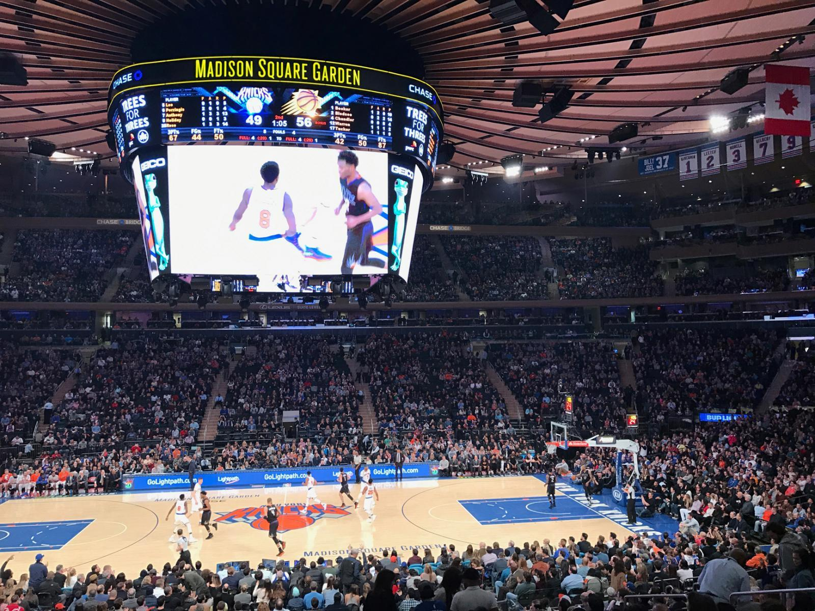 NY Knicks Game