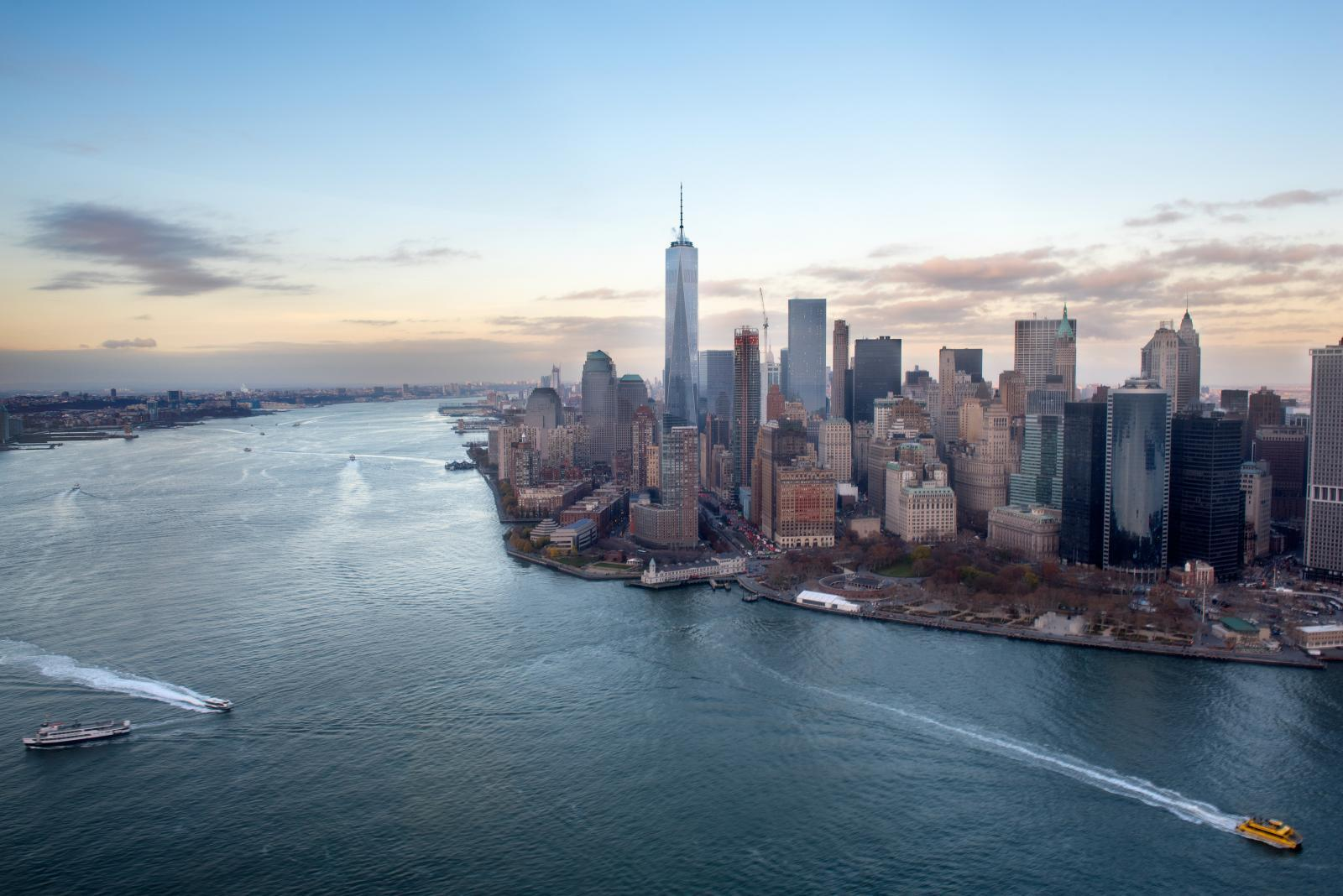Helicopter Ride Over NYC