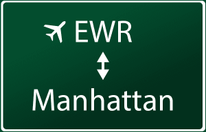 how to go to newark airport from manhattan