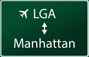 Transfer from LGA to Manhattan