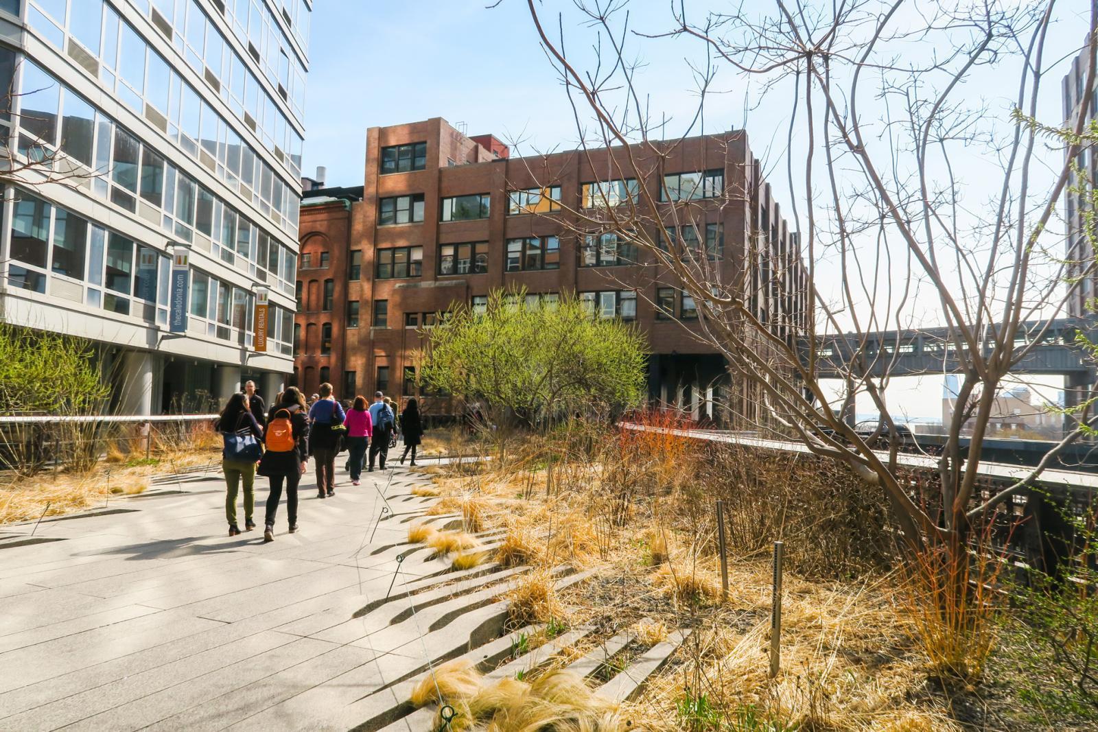 Take a walk along the High Line