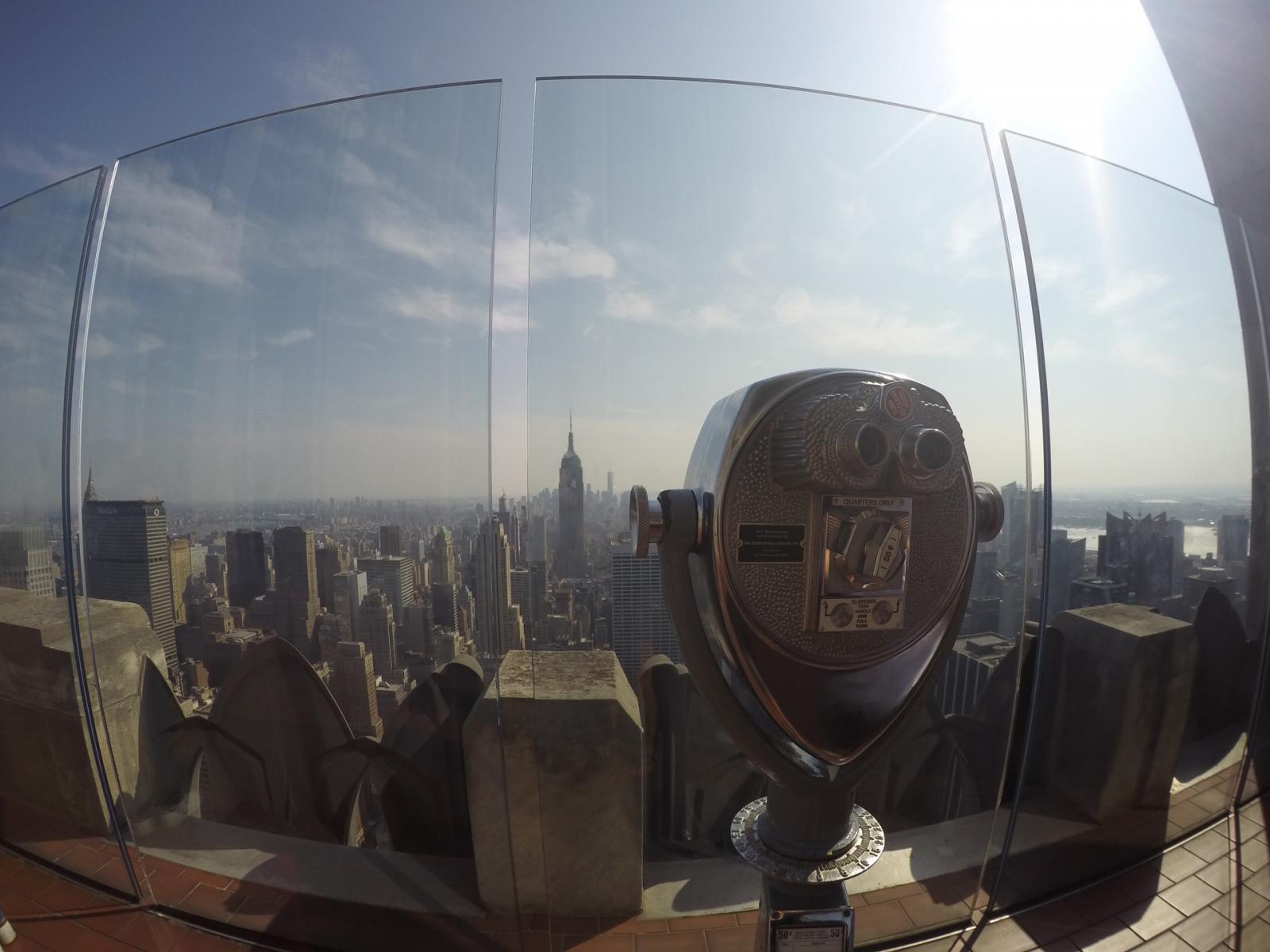 Top of Rock Rockefeller Center