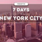 7 Day New York Itinerary
