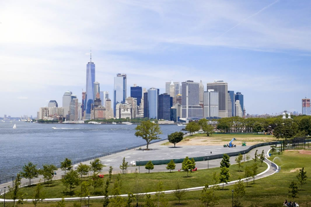 Governors Island in May