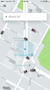 Uber in NYC
