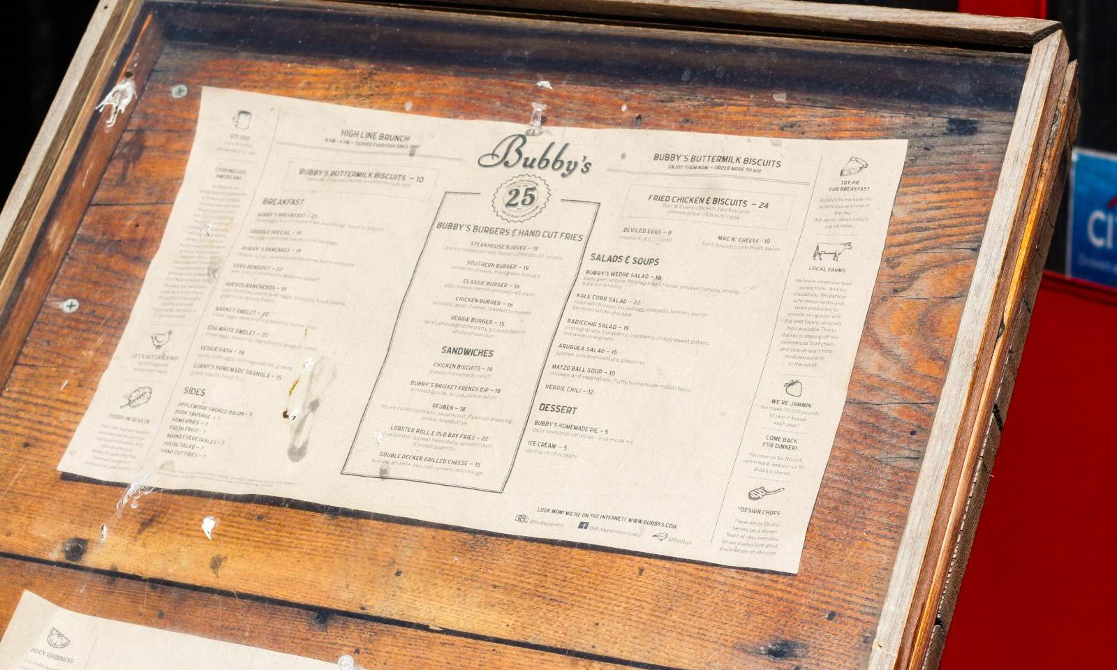 Bubby\'s NYC | Simple & Fresh Comfort Food in New York City