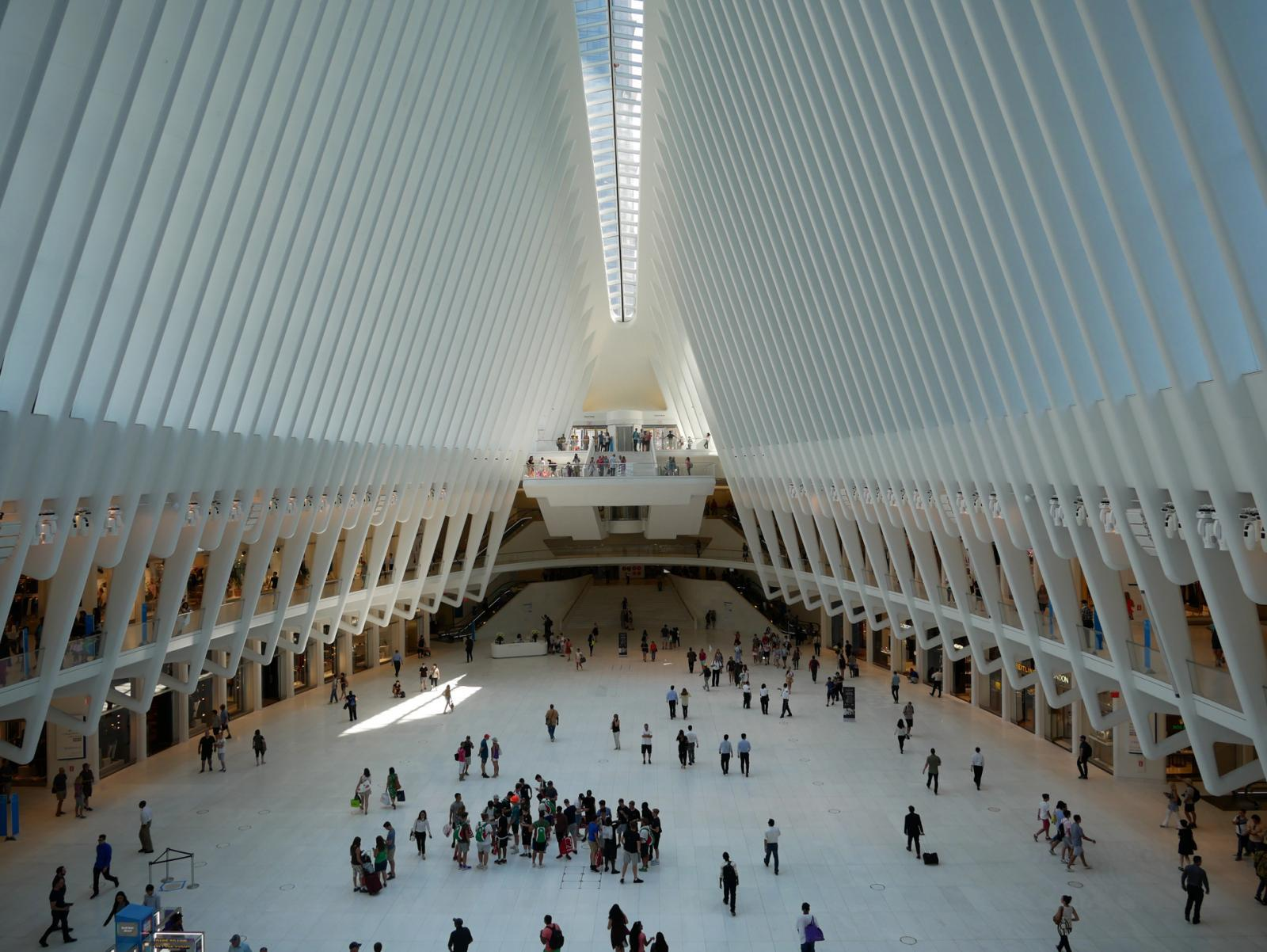 Oculus at Westfield Word Trade Center