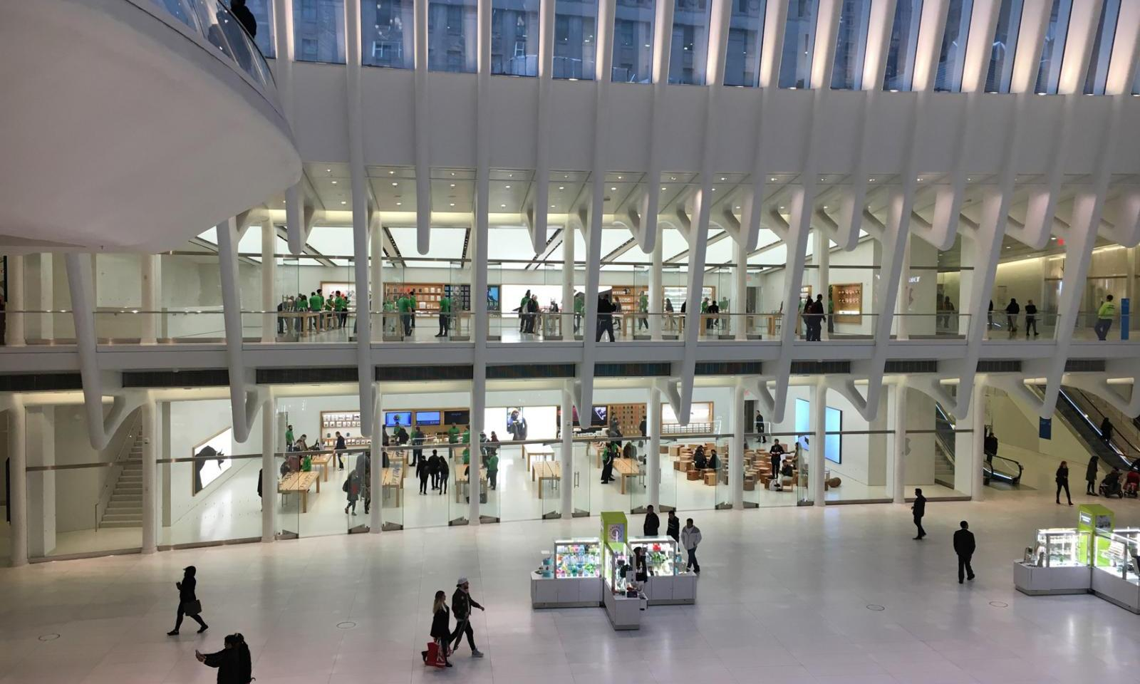 ▷ The Oculus & Westfield World Trade Center Mall