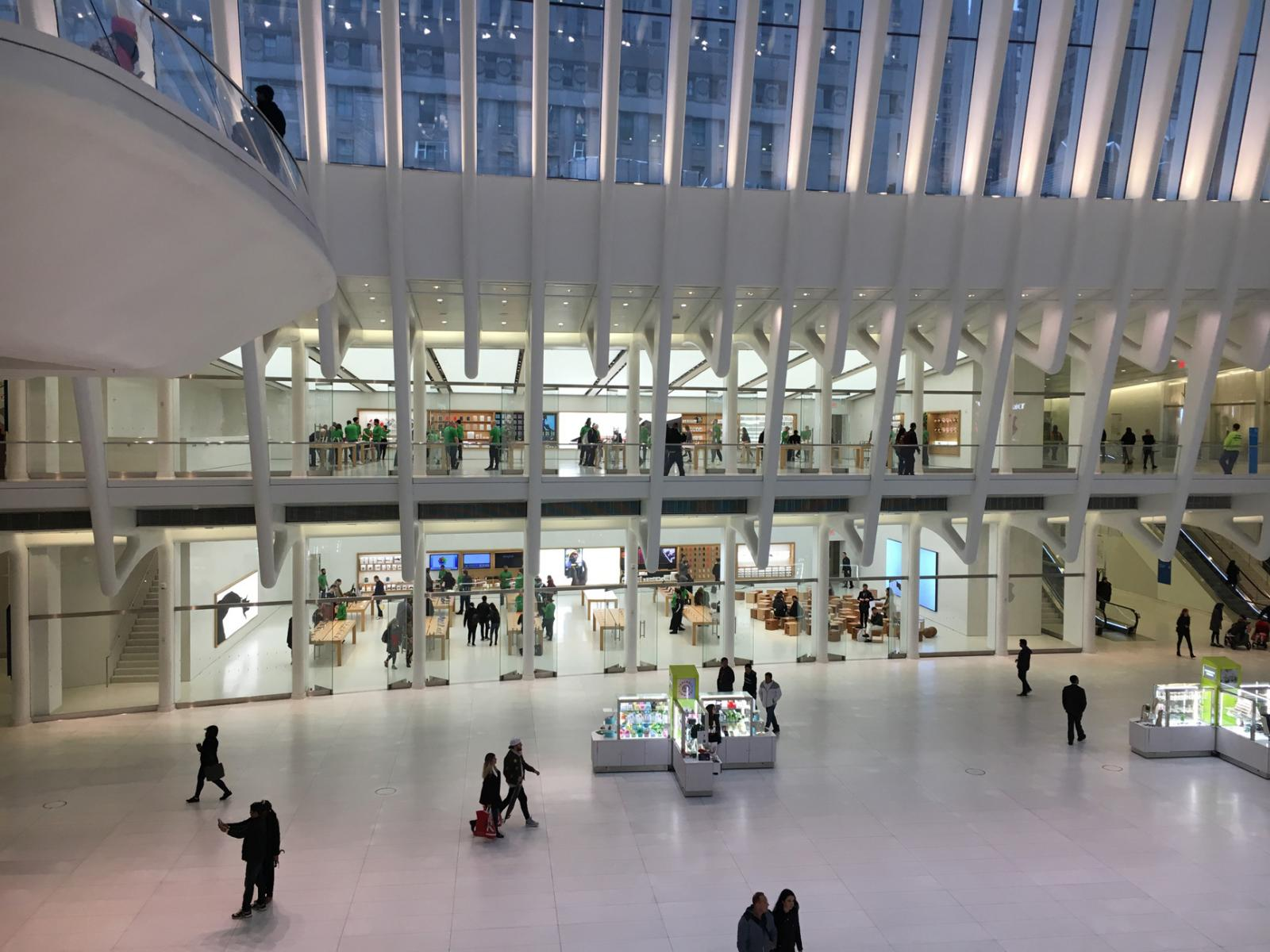 The Oculus in NYC