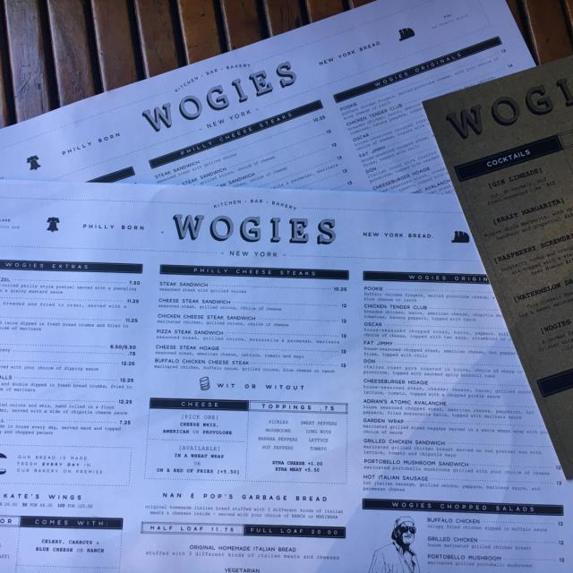 Wogies Bar and Grill in New York City