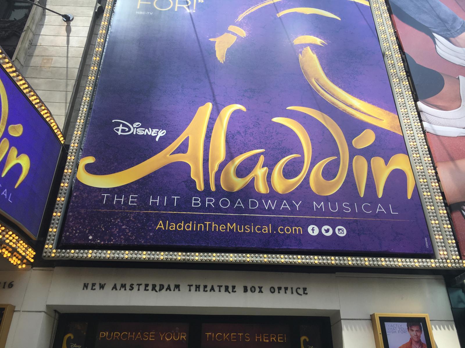Aladdin On Broadway New York City Loving New York