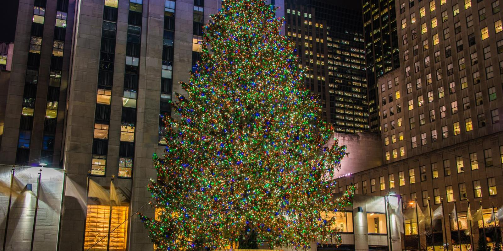 Nyc Christmas Tree Lighting 2019.The Christmas Tree At Rockefeller Center 2019 A New