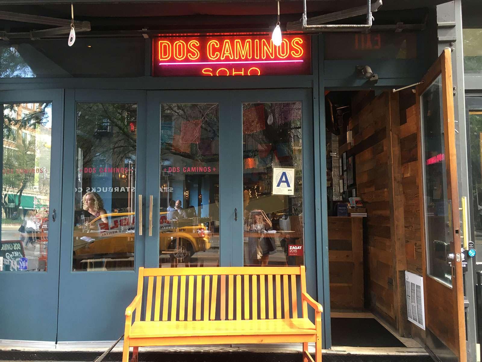 Dos Caminos in New York