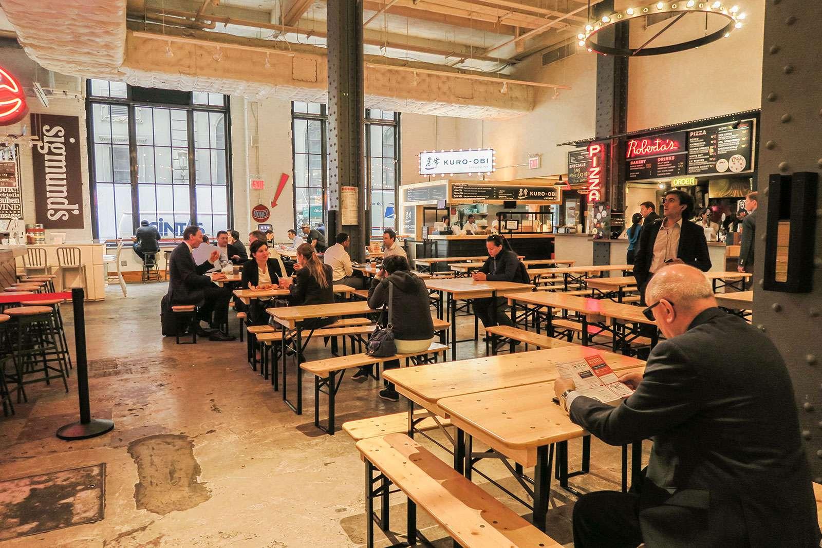 Urbanspace Foodmarket in Midtown