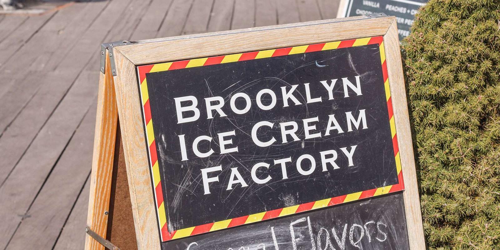 Brooklyn Ice Cream Factory (CLOSED)