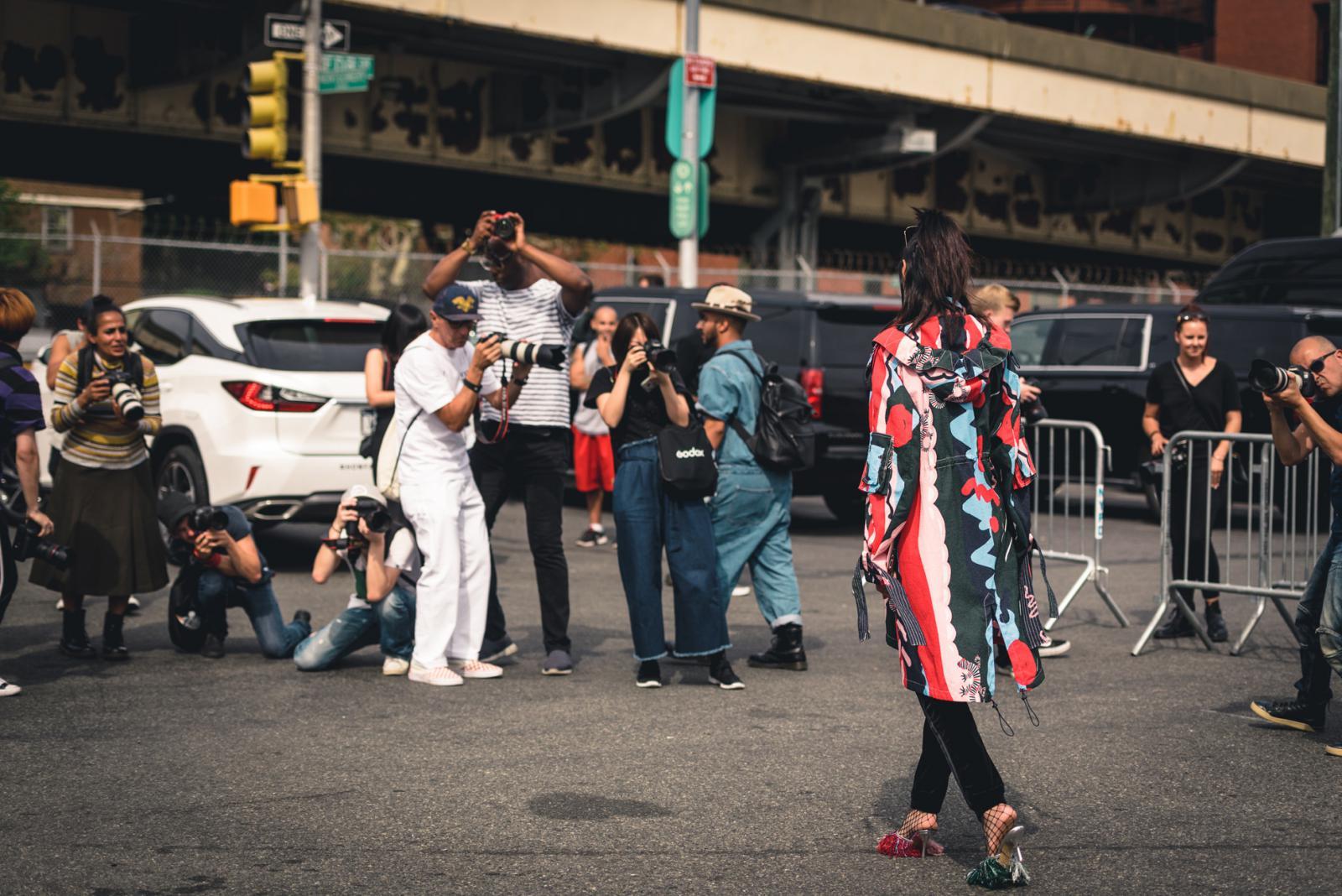 Midtown Manhattan during Fashion Week