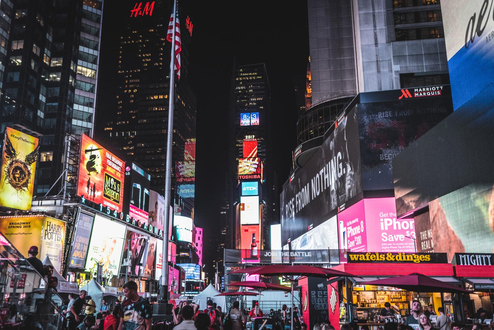 Midtown Manhattan Times Square