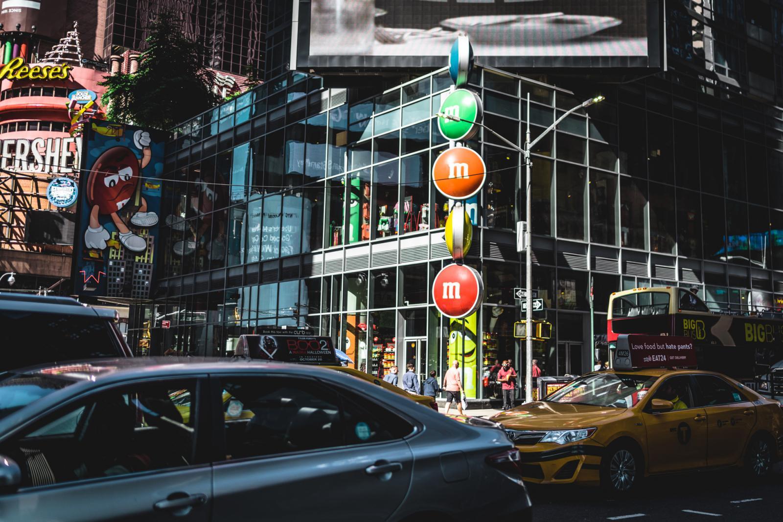 Midtown Manhattan M&M's world