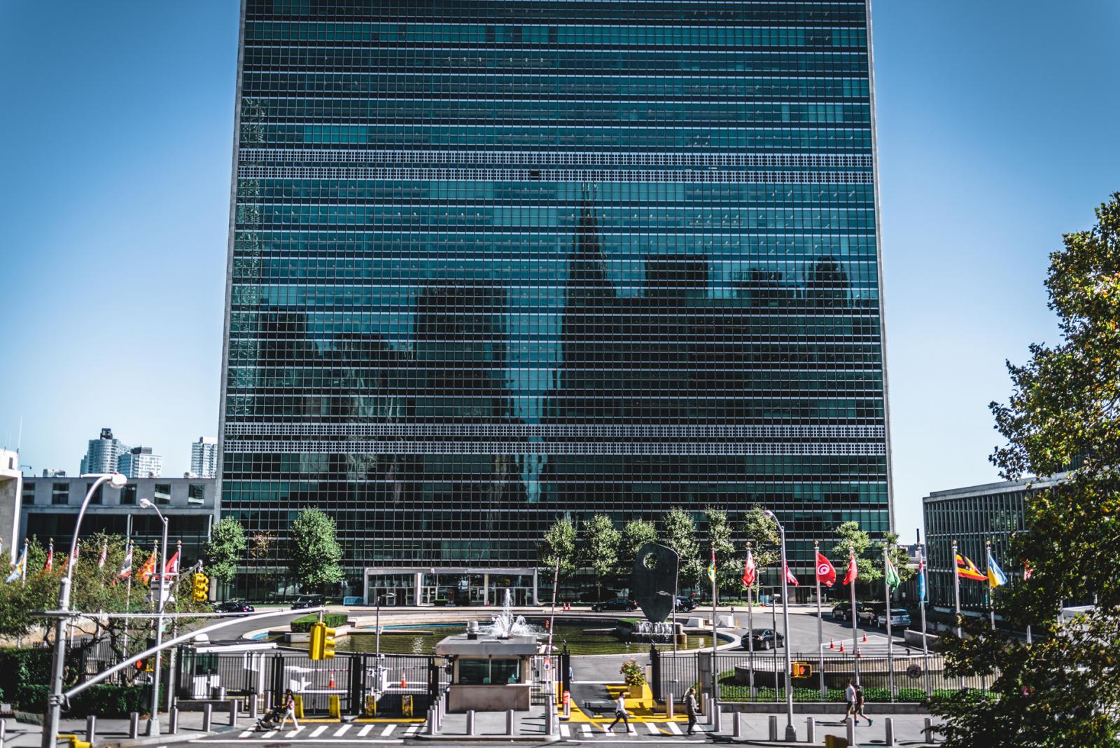 Midtown Manhattan United Nations