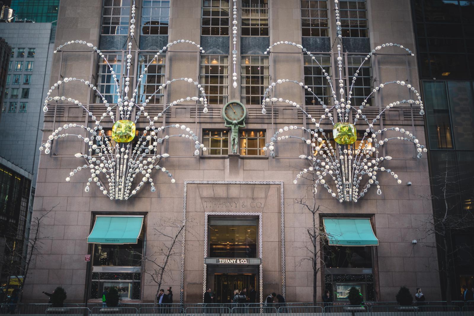 Holiday Windows in New York