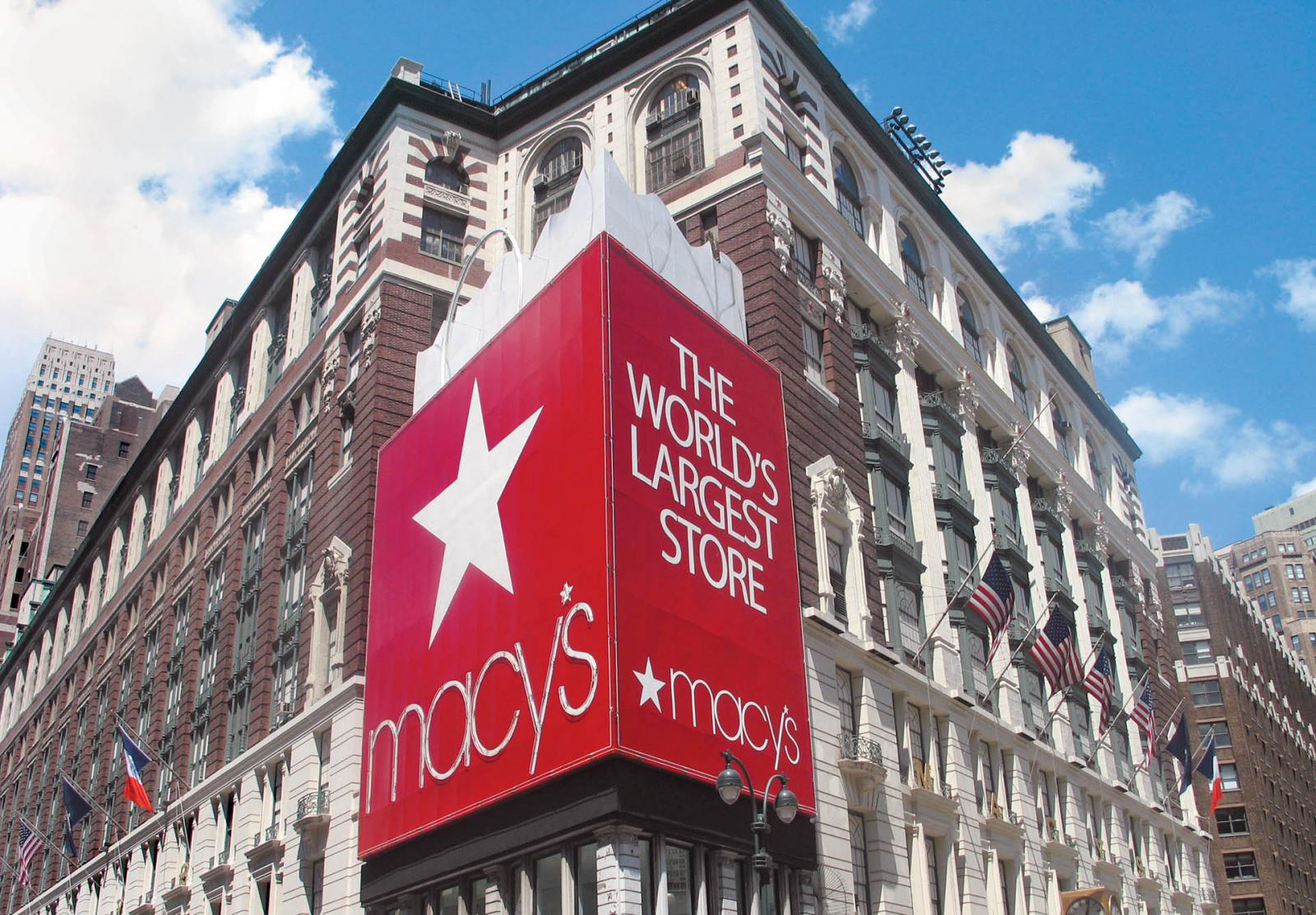 Macys in Midtown Manhattan