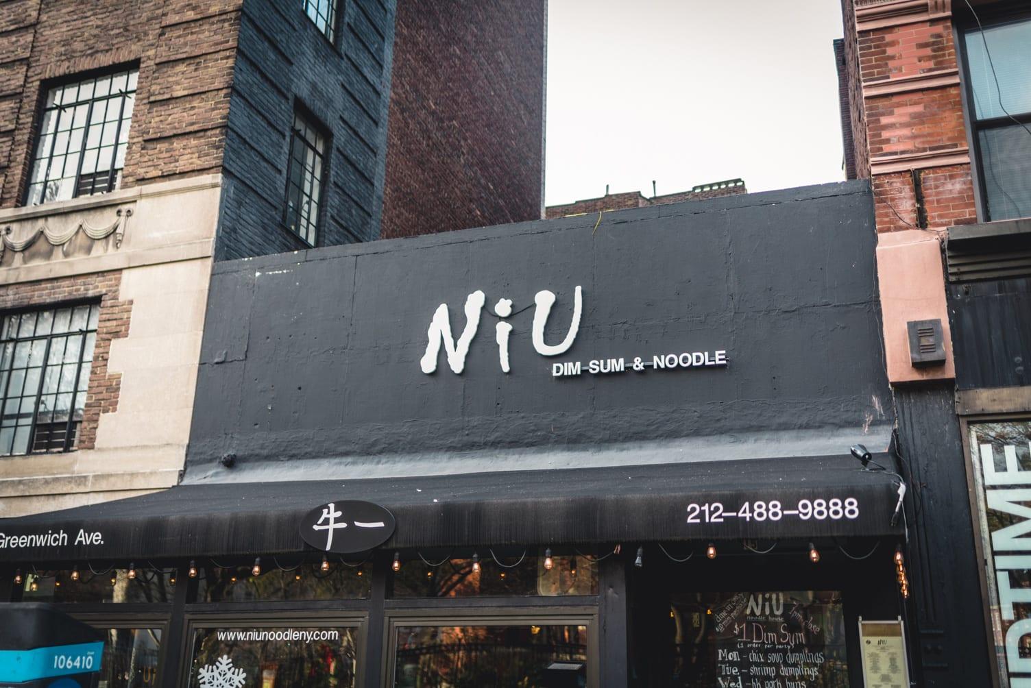 Niu Noodle House in West Village