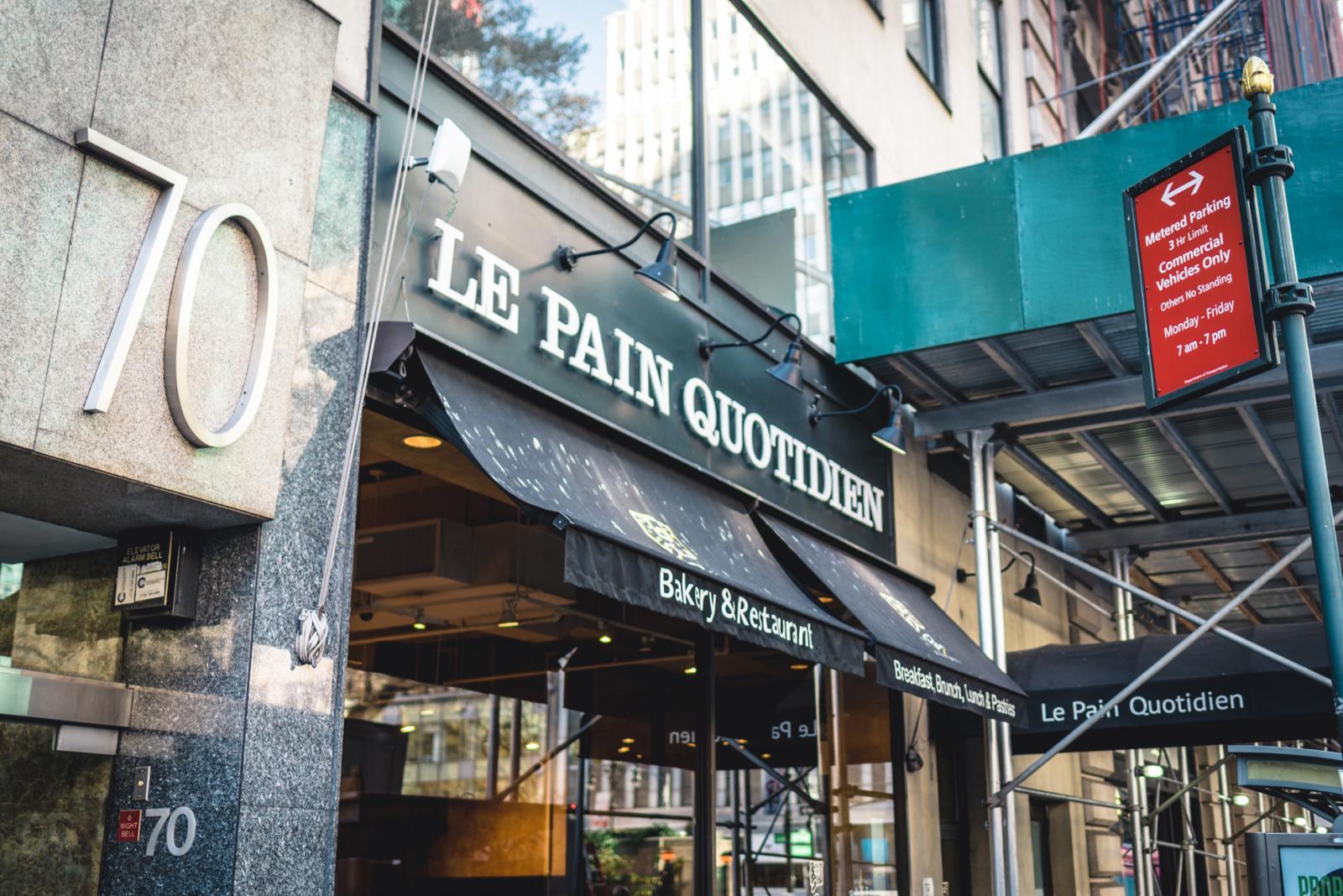 Le Pain Quotidien New York
