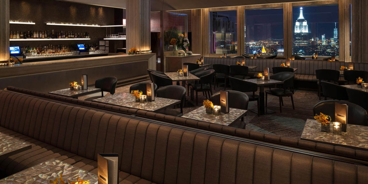 Bar SixtyFive – The Highest Terrace Bar in NYC