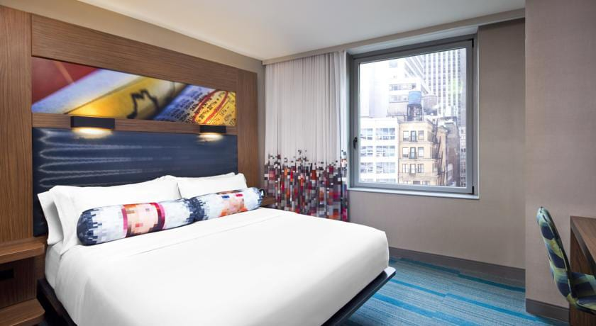 Aloft Hotel in Downtown Manhattan
