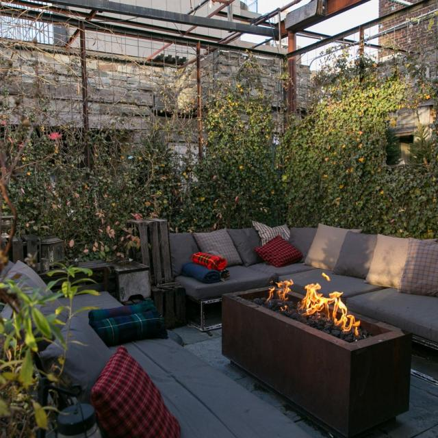Gallow Green Rooftop Bar at McKittrick Hotel