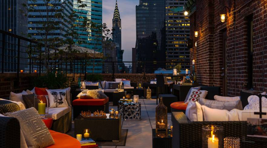 18 Renaissance New York Hotel 57 Rooftop Bar