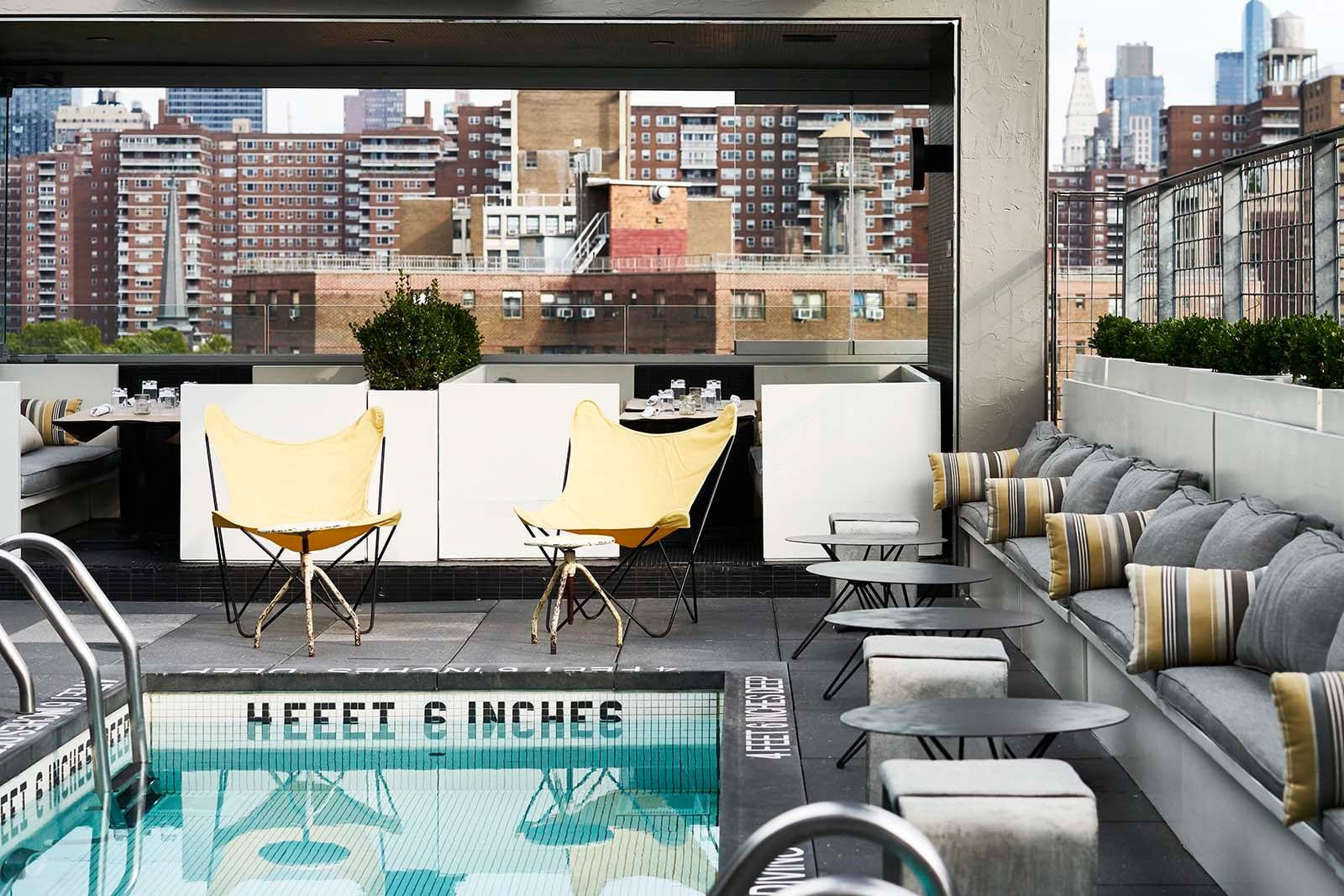 La Piscine Rooftop Bar New York