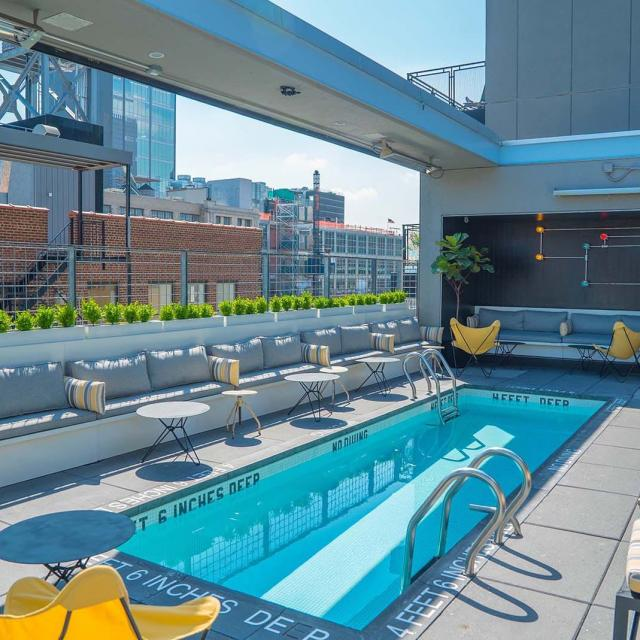 La Piscine Rooftop Bar