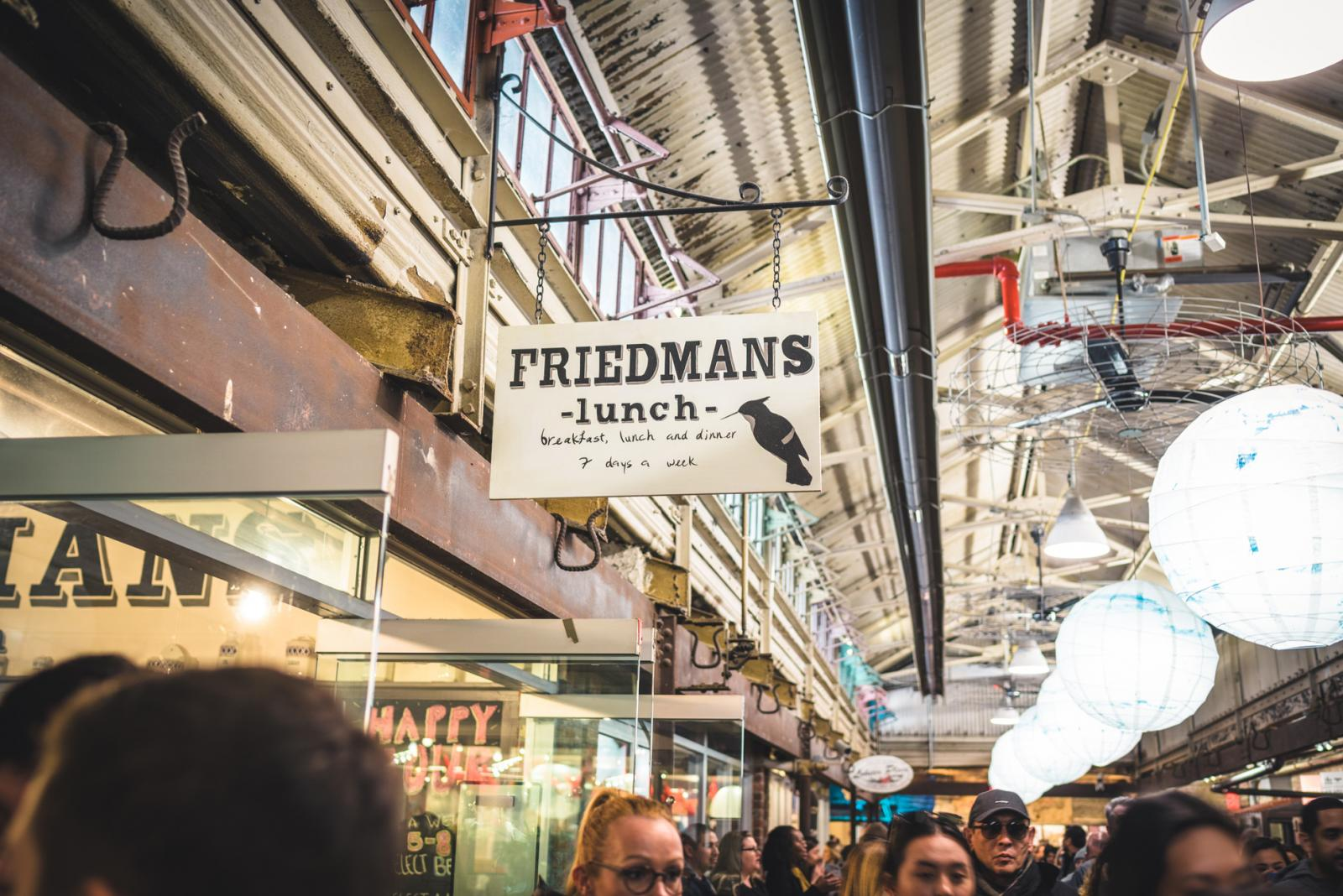Friedman's Lunch in Chelsea Market