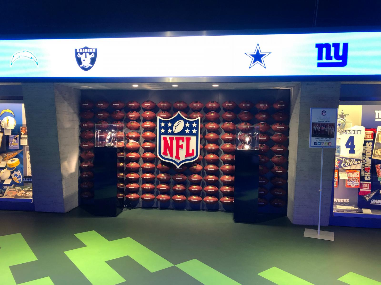 The NFL Experience NYC