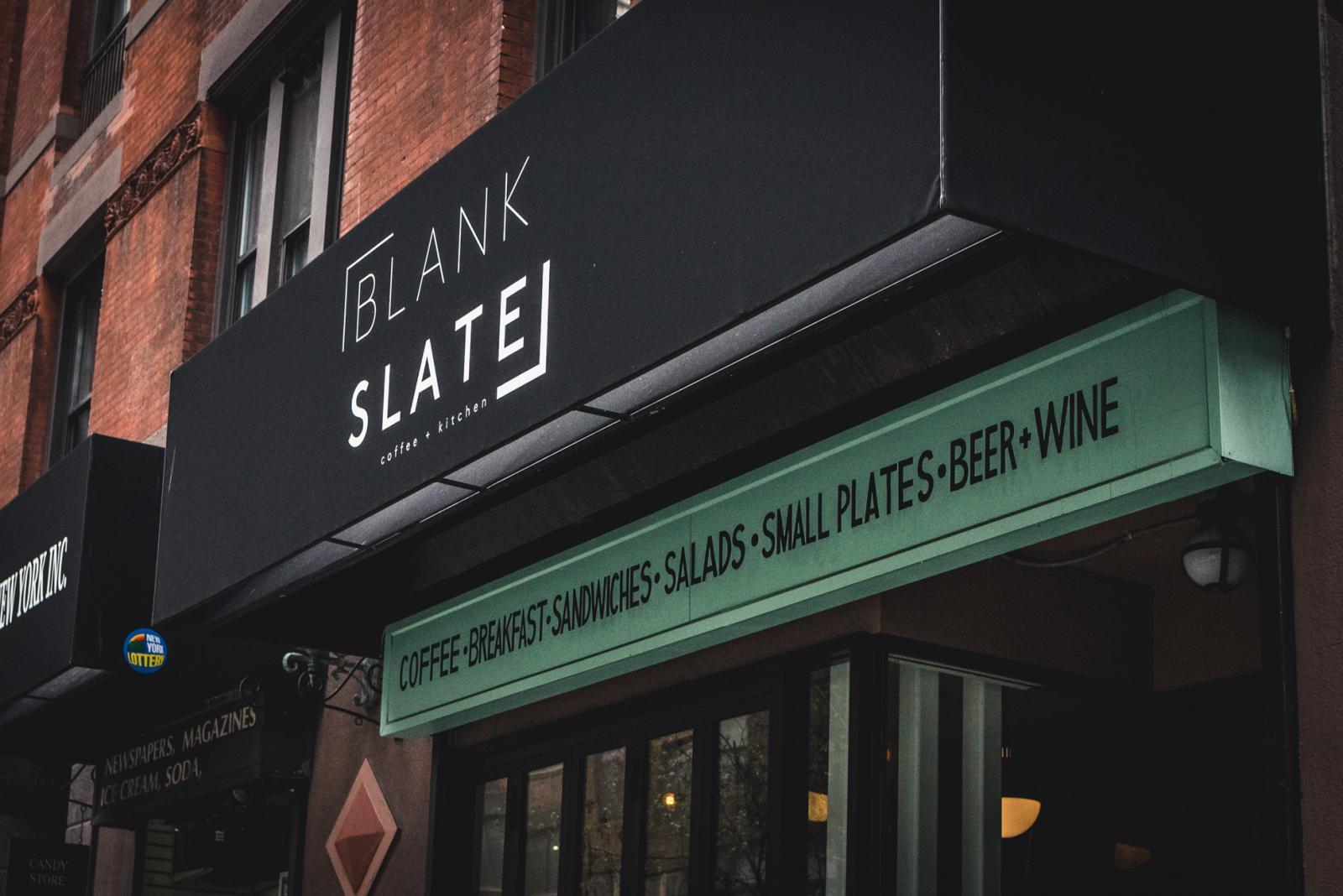 Blank Slate NYC – Coffee + Kitchen