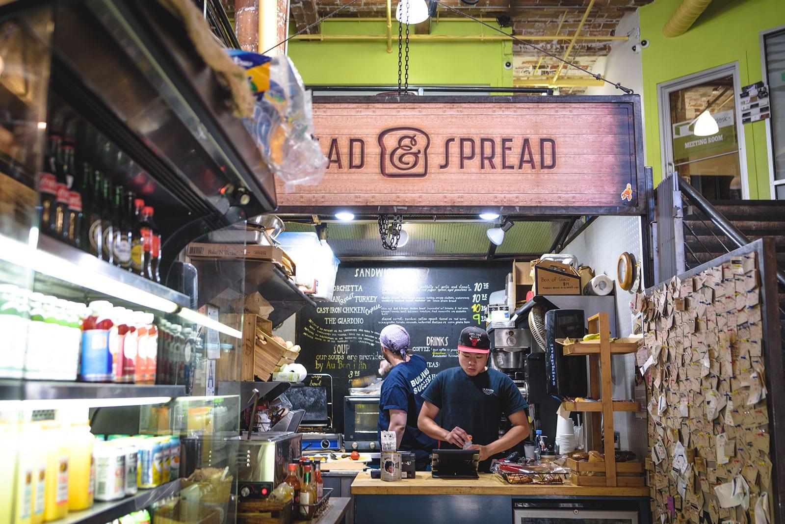 Bread & Spread Sandwich Shop