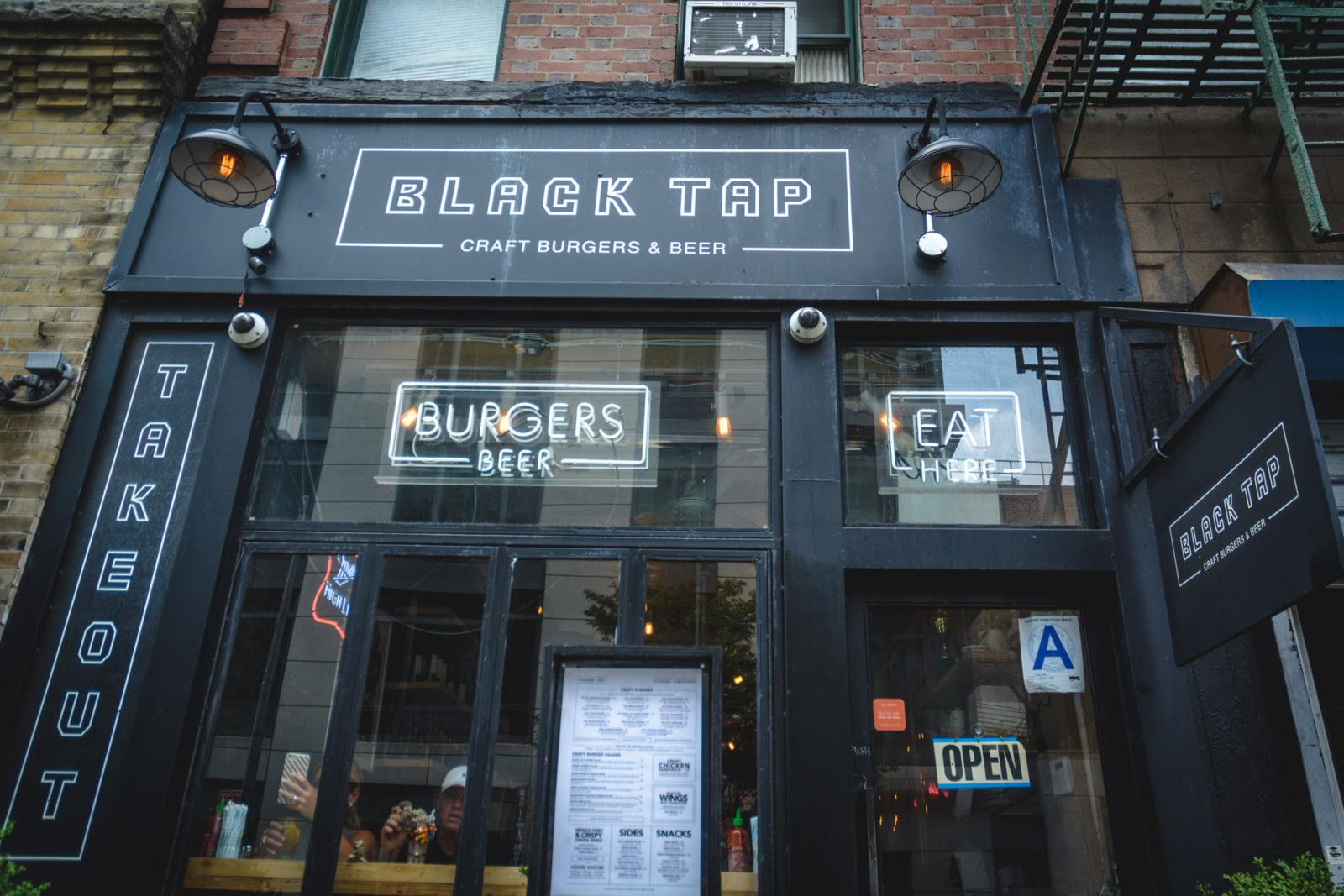 Black Tap NYC Milkshakes (and Burgers) – Go Here for Burgers and Crazy Shakes
