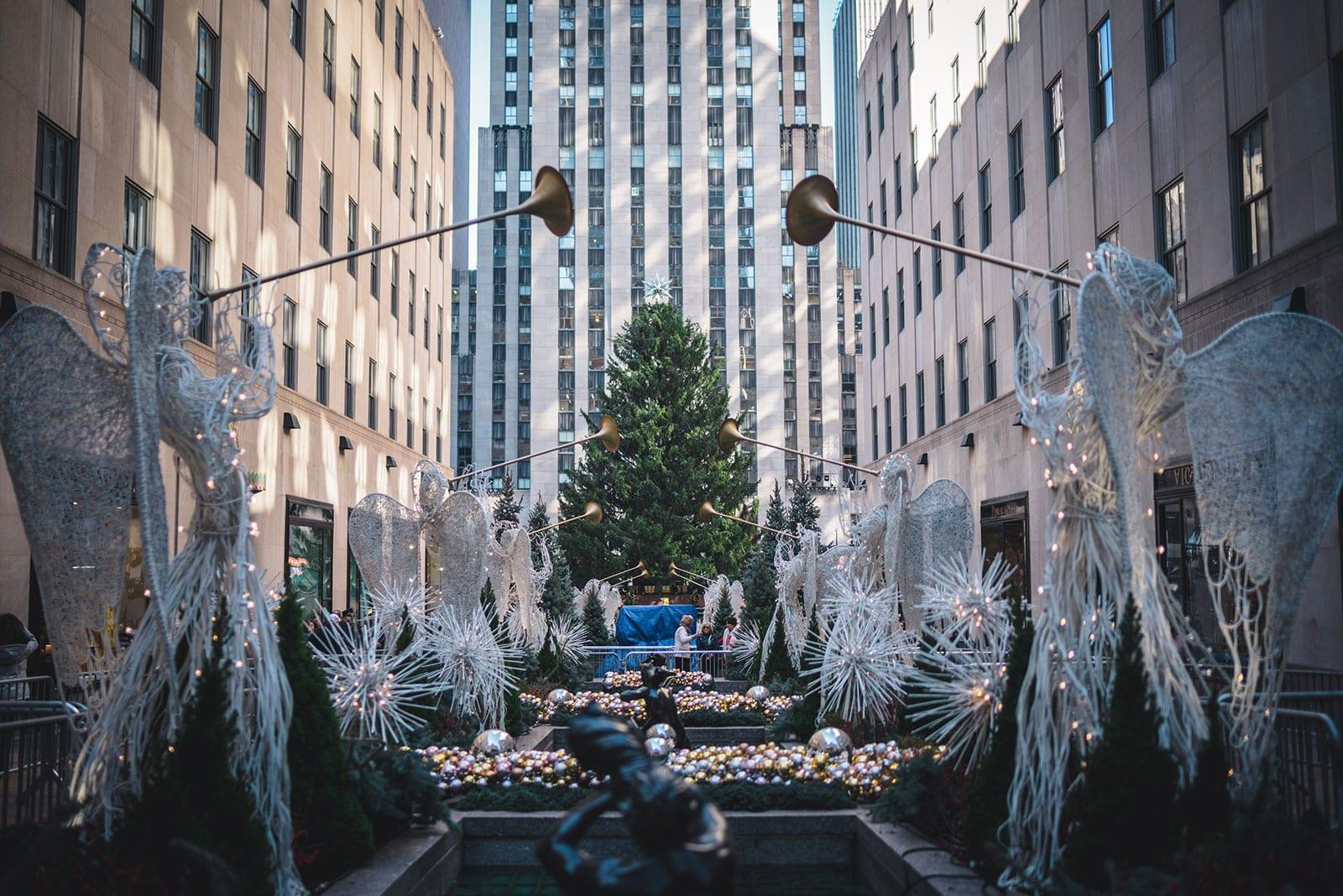 Christmas in-New York