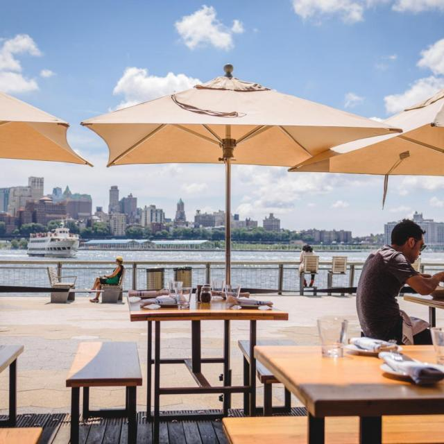 Industry Kitchen South Street Seaport – Lunch by the East River