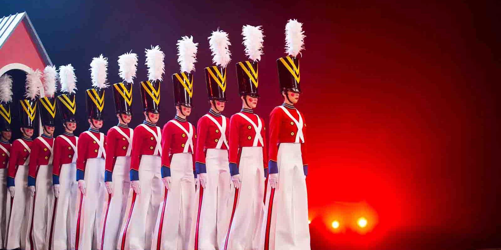 Espectaculares soldados navideños