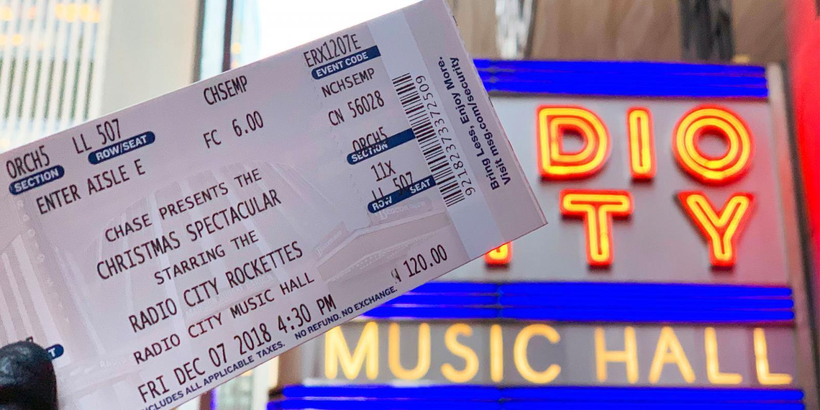 Radio City Musical Hall Tickets