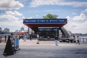 Pier 17 in New York