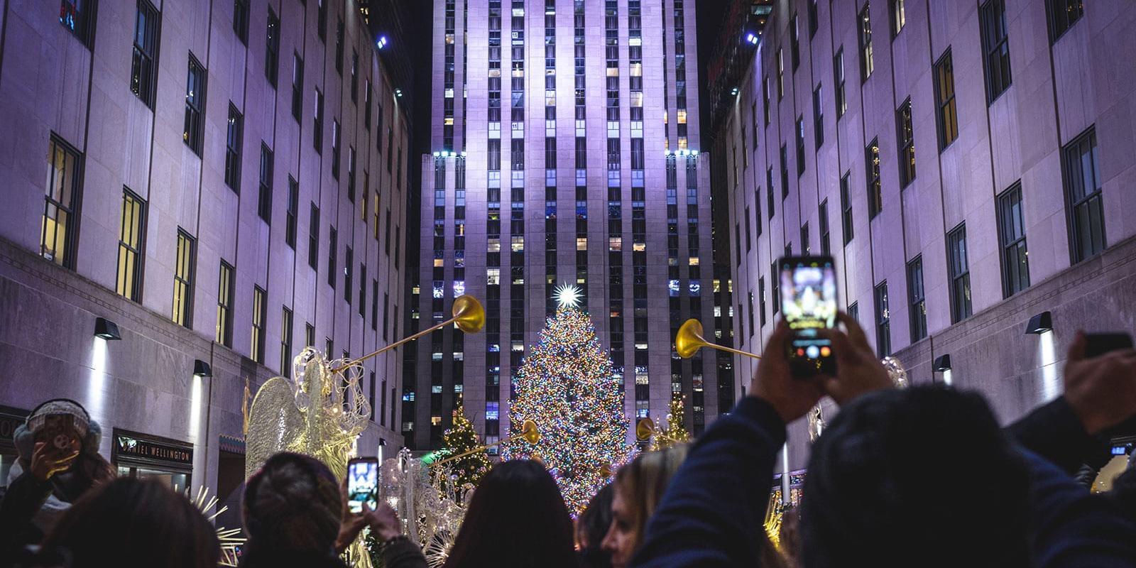 New York Christmas Tree at Rockefeller Center