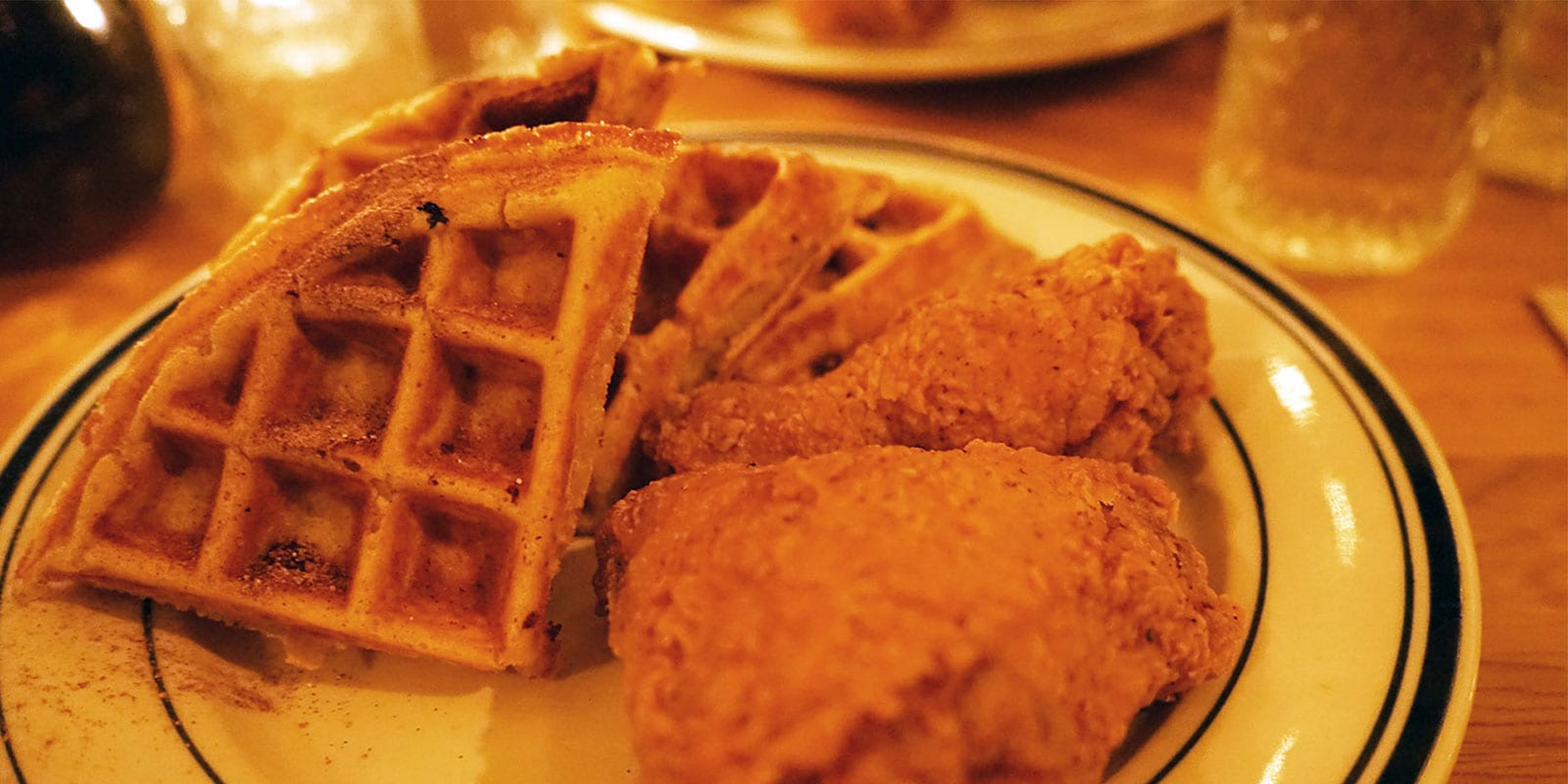 Sweet Chick NYC chicken and waffles