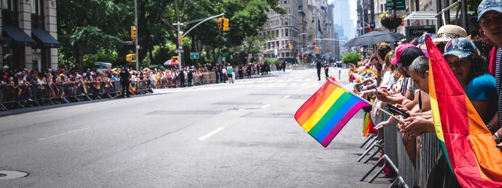 LGBTQ Flag at WorldPride NYC
