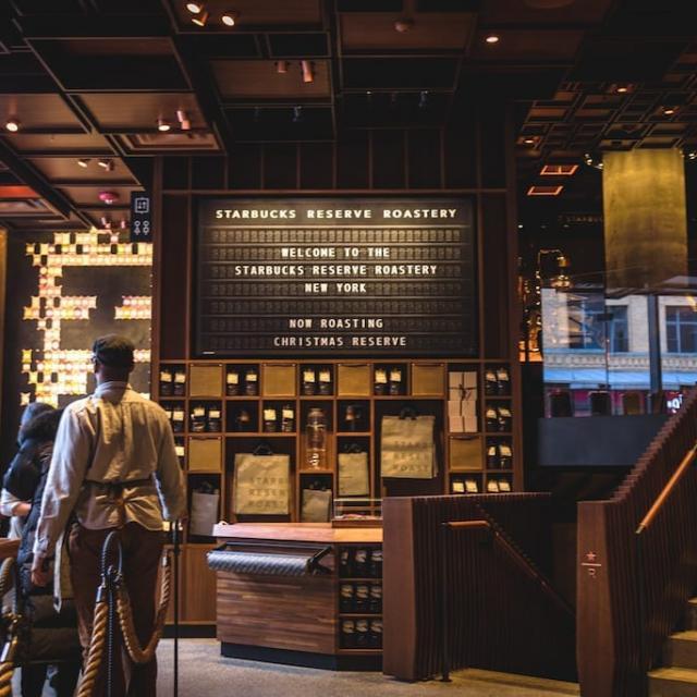 Starbucks Reserve in NYC – New York Roastery
